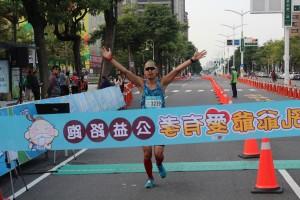 2017-10-22第三屆孔爺爺公益路跑-賽道終點